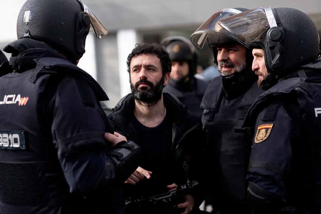 Antidisturbios © Movistar+