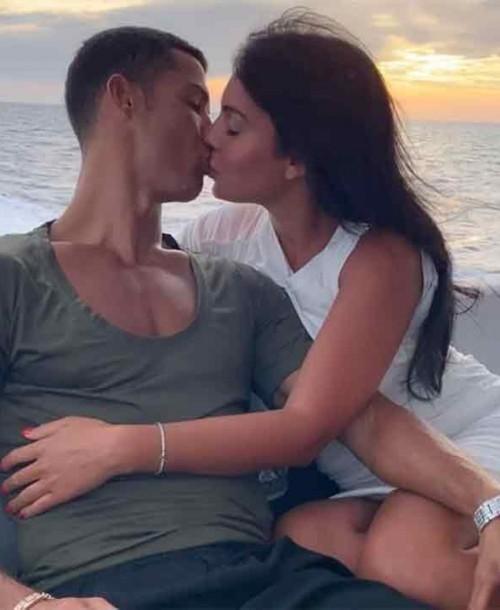 Georgina Rodríguez dice «SÍ» a Cristiano Ronaldo