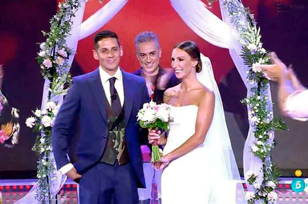 Fani y Christofer se casan en 'Sálvame'