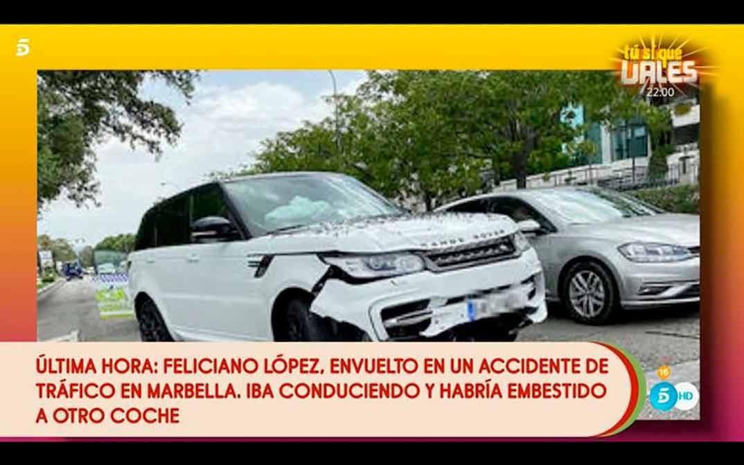Feliciano López accidente - Sálvame