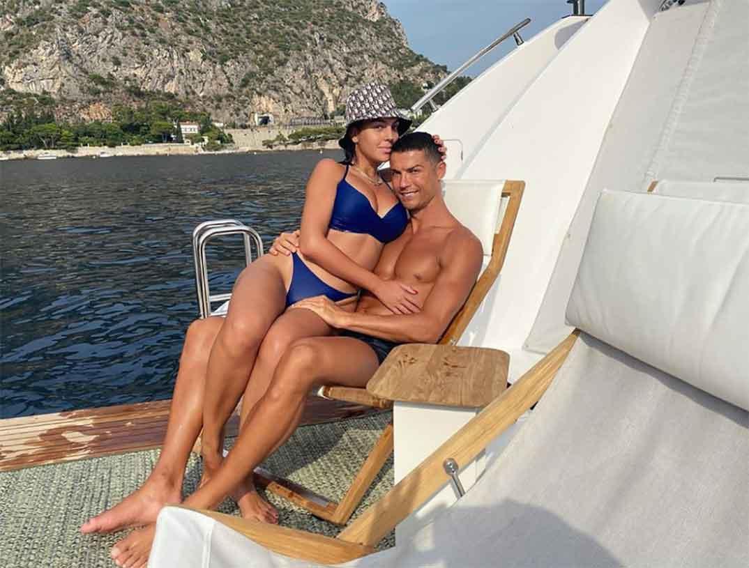 Cristiano Ronaldo y Georgina Rodríguez © Instagram