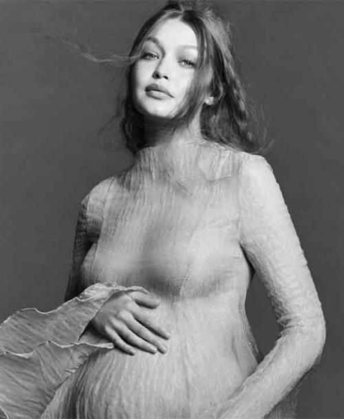 Gigi Hadid muestra, por primera vez, su embarazo