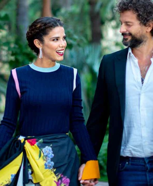 Juana Acosta presume de novio en Málaga