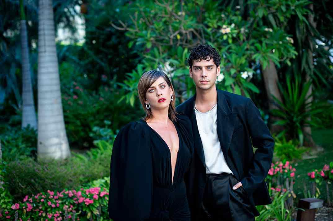 Maria León y Eduardo Casanova © Festival de Cine de Málaga 2020