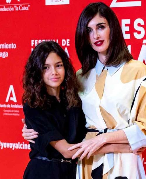Paz Vega y su hija, Ava Salazar, conquistan el Festival de Málaga