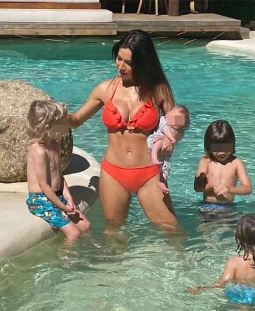 El espectacular posado en bikini de Pilar Rubio tras dar a luz