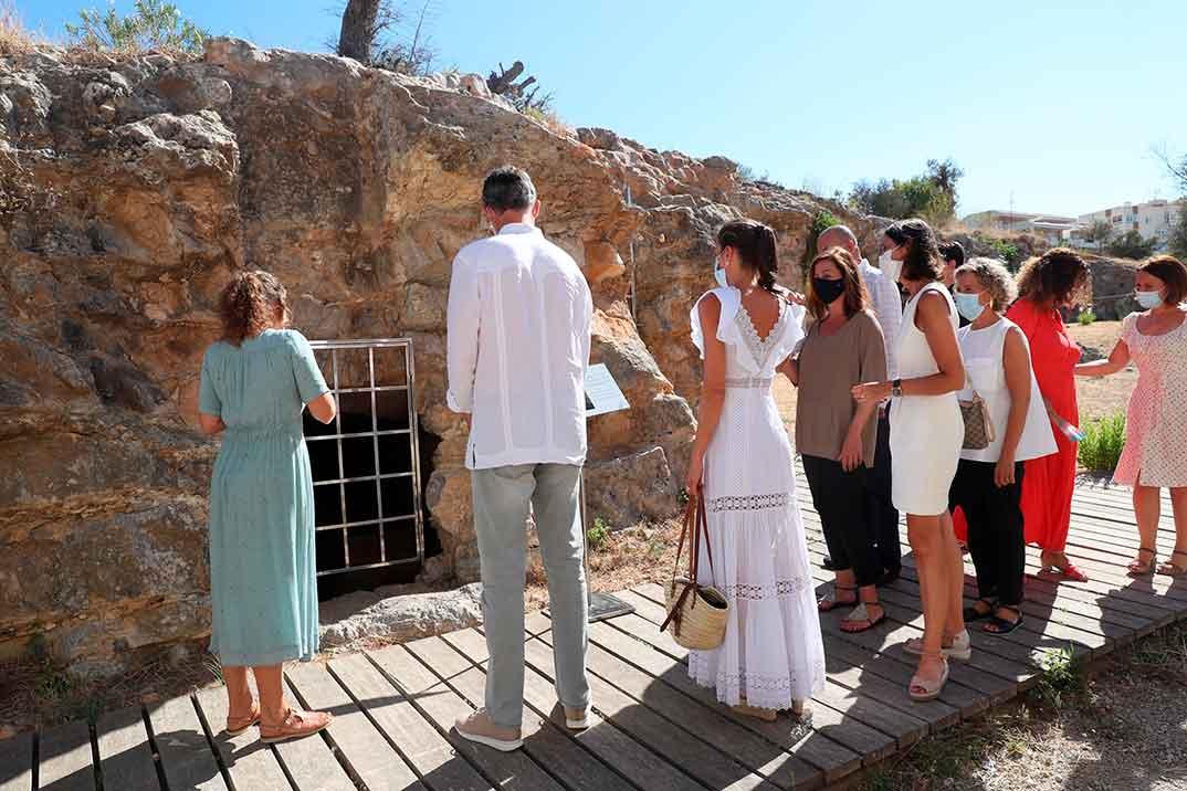 Reyes Felipe y Letizia en Ibiza © Casa S.M. El Rey