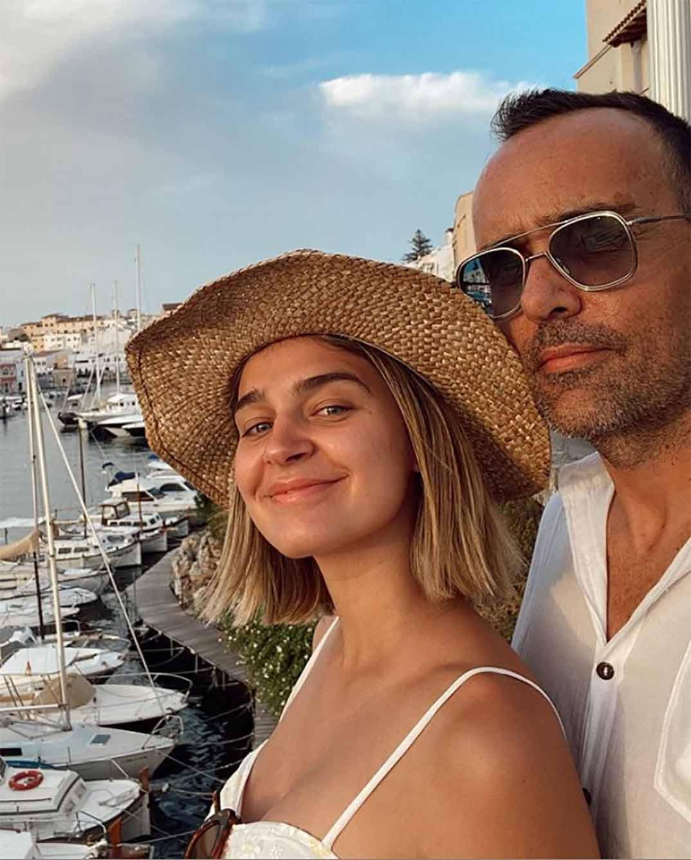 Risto Mejide y Laura Escanes © Instagram