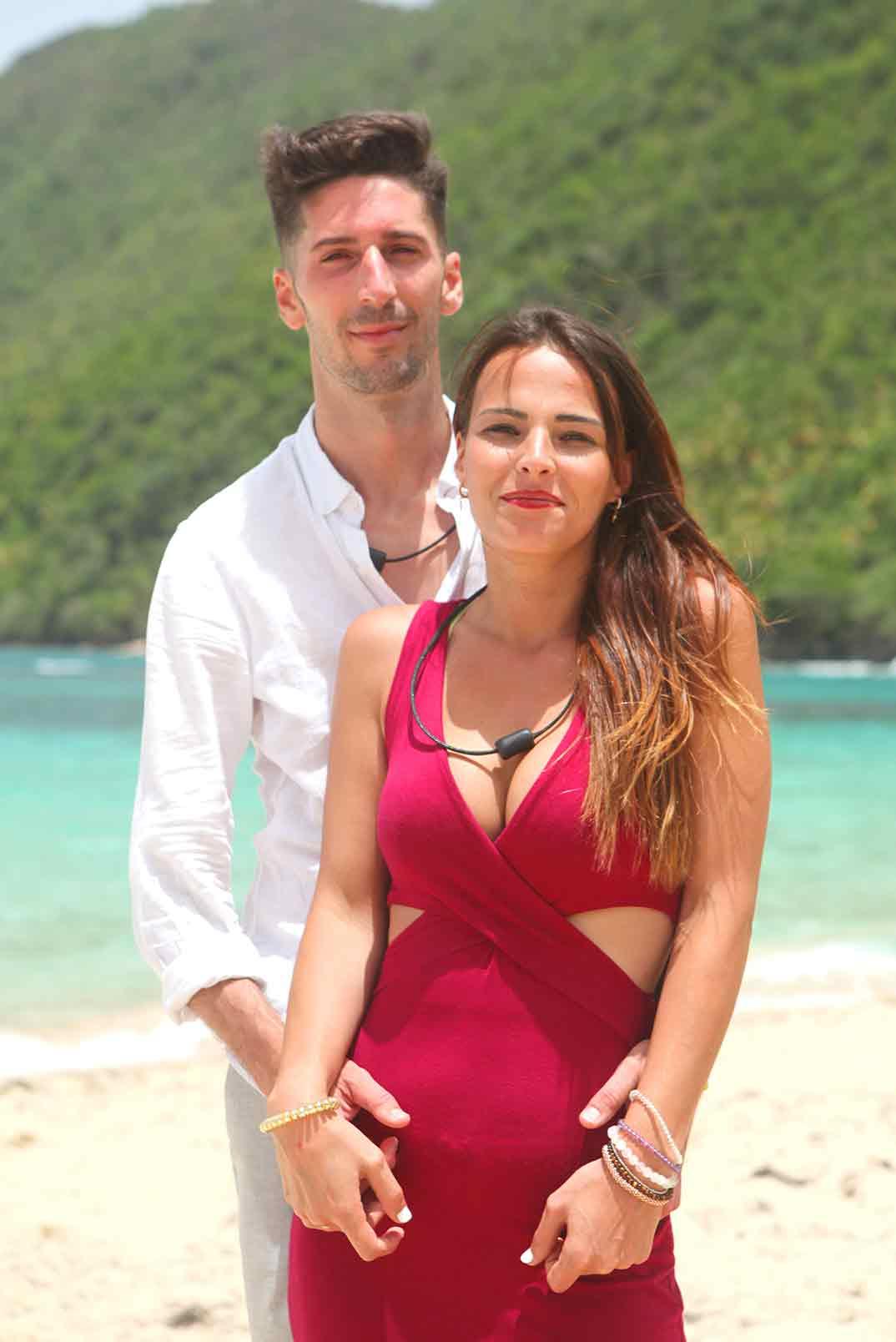 Lester y Marta - La isla de las tentaciones © Mediaset