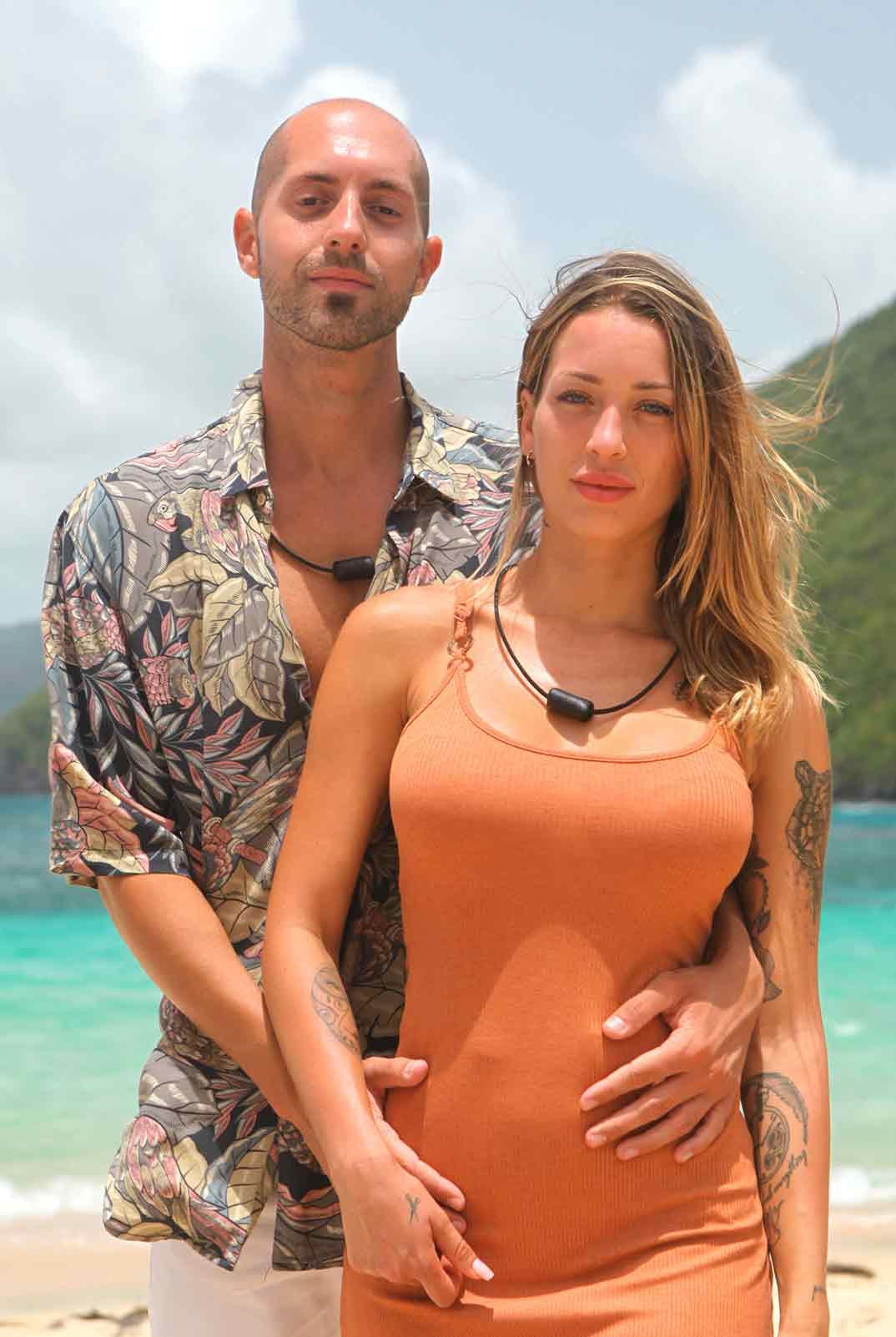 Pablo y Mayka - La isla de las tentaciones © Mediaset