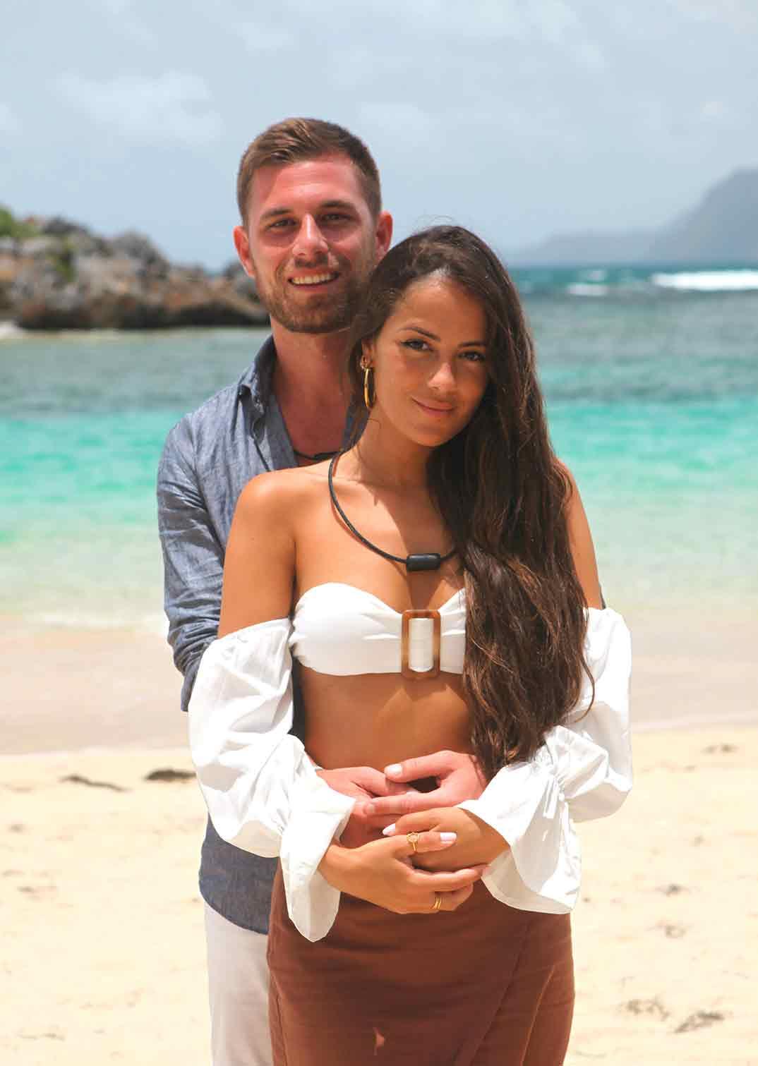 Tom y Melyssa La isla de las tentaciones © Mediaset