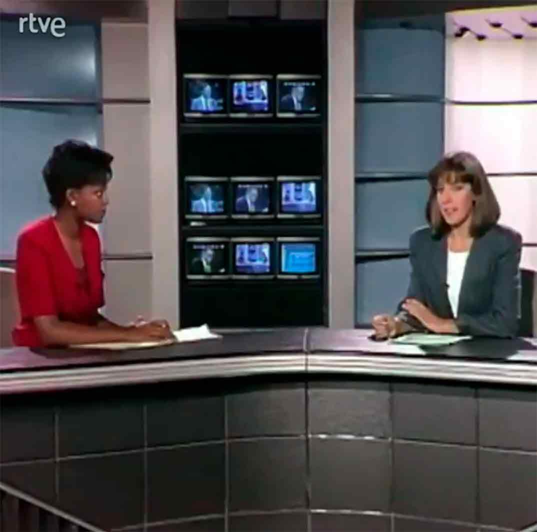 Ana Blanco y Francine Gálvez © RTVE