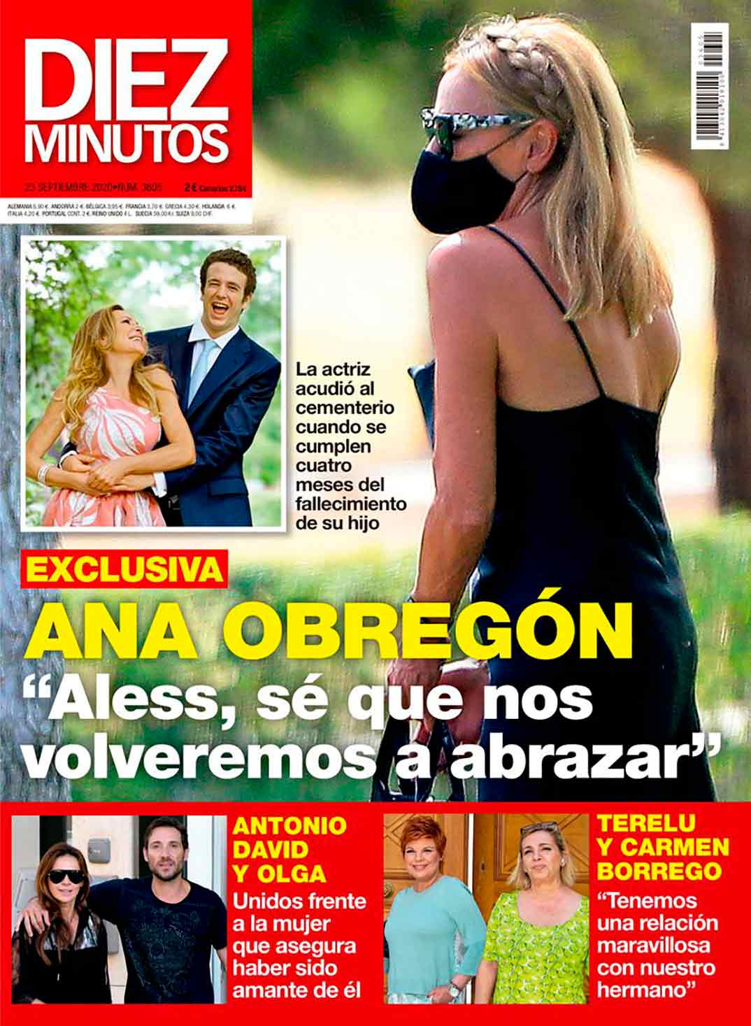 Ana Obregón - Revista Diez Minutos