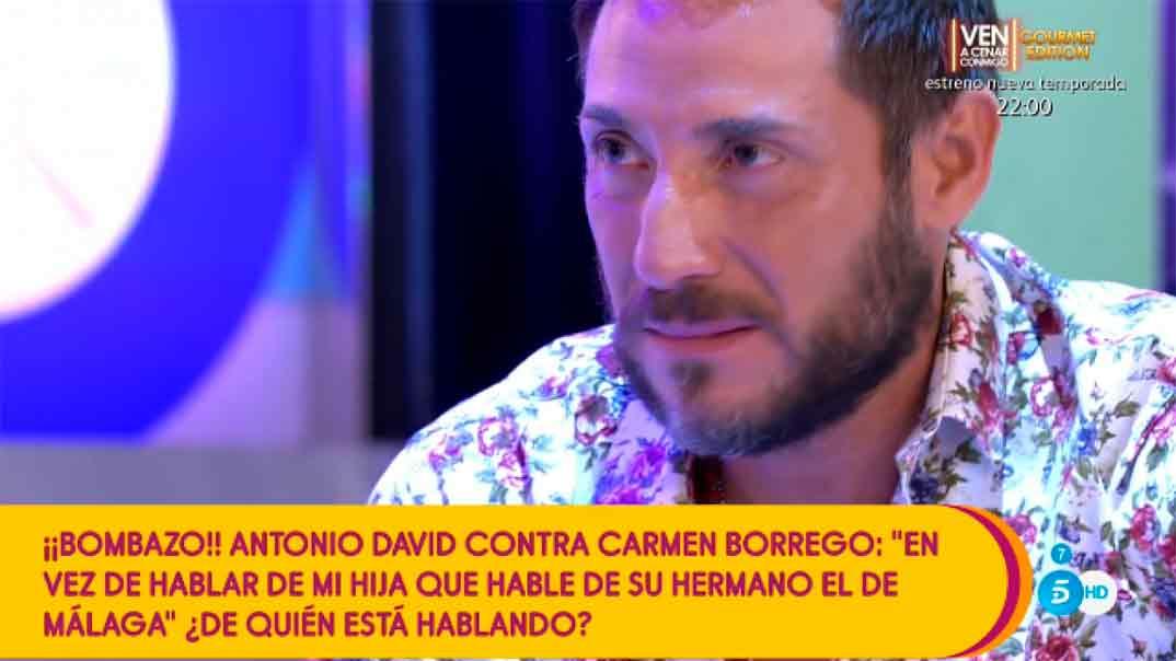 Antonio David Flores - Sálvame © Telecinco