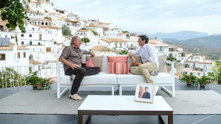Bertín Osborne y Albert Rivera - Mi casa es la tuya © Mediaset