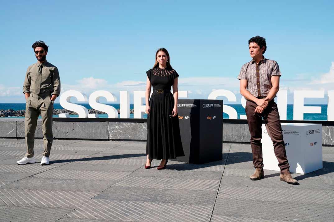 Javier Rey, Blanca Suárez, Pablo Molinero - El verano que vivimos © Festival de Cine de San Sebastián
