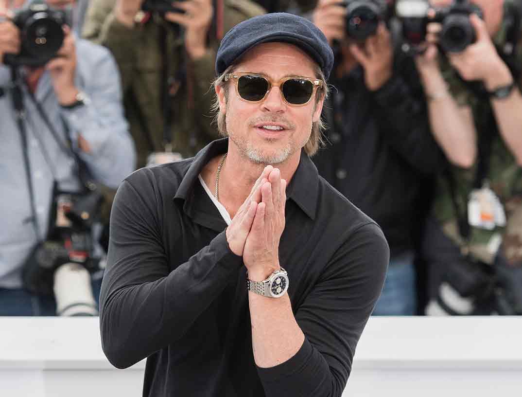 Brad Pitt - Festival de Cine de Cannes - 2019