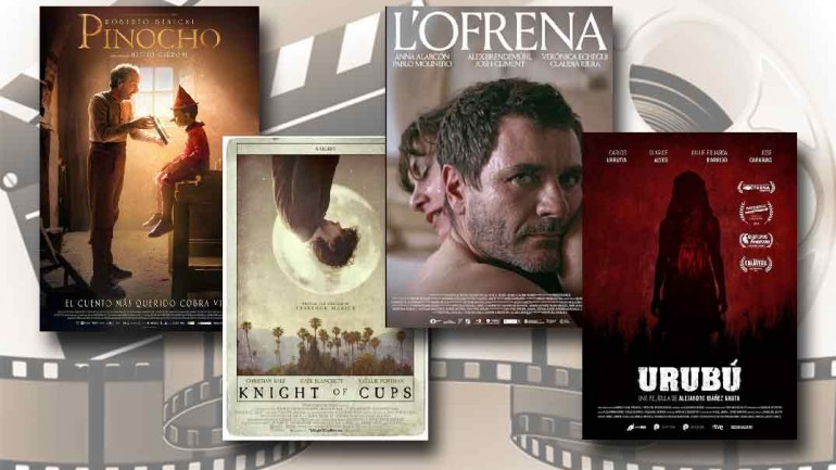 estrenos de cine semana 18 septiembre 2020
