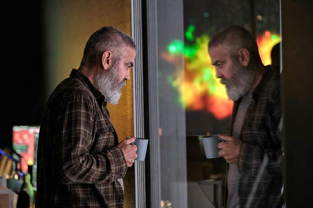 George Clooney - Cielo de medianoche © Netflix