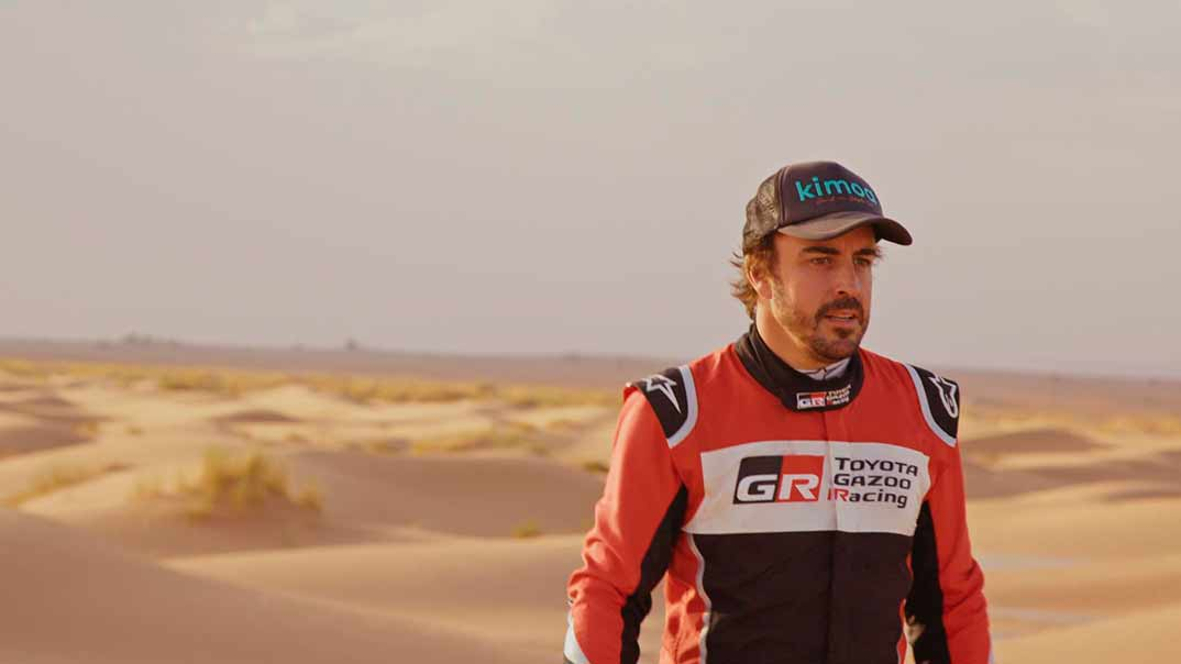 Fernando Alonso © Amazon Prime Video