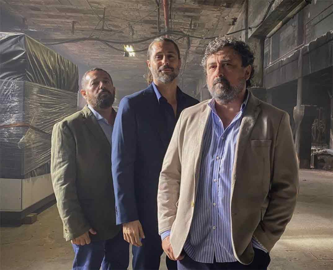 Pepón Nieto, Hugo Silva y Paco Tous - Los hombres de Paco © Redes Sociales