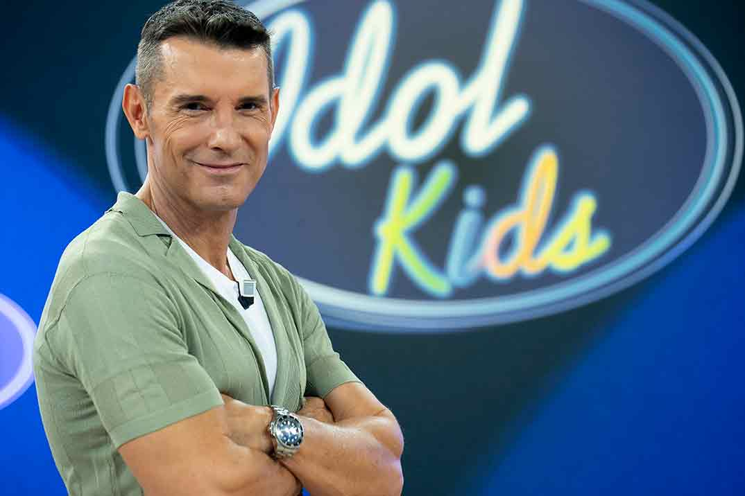 Jesús Vázquez - Idol Kids © Mediaset