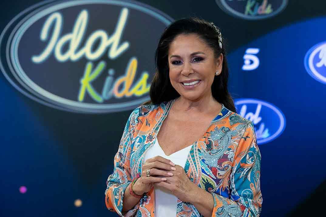 Isabel Pantoja - Idol Kids © Mediaset