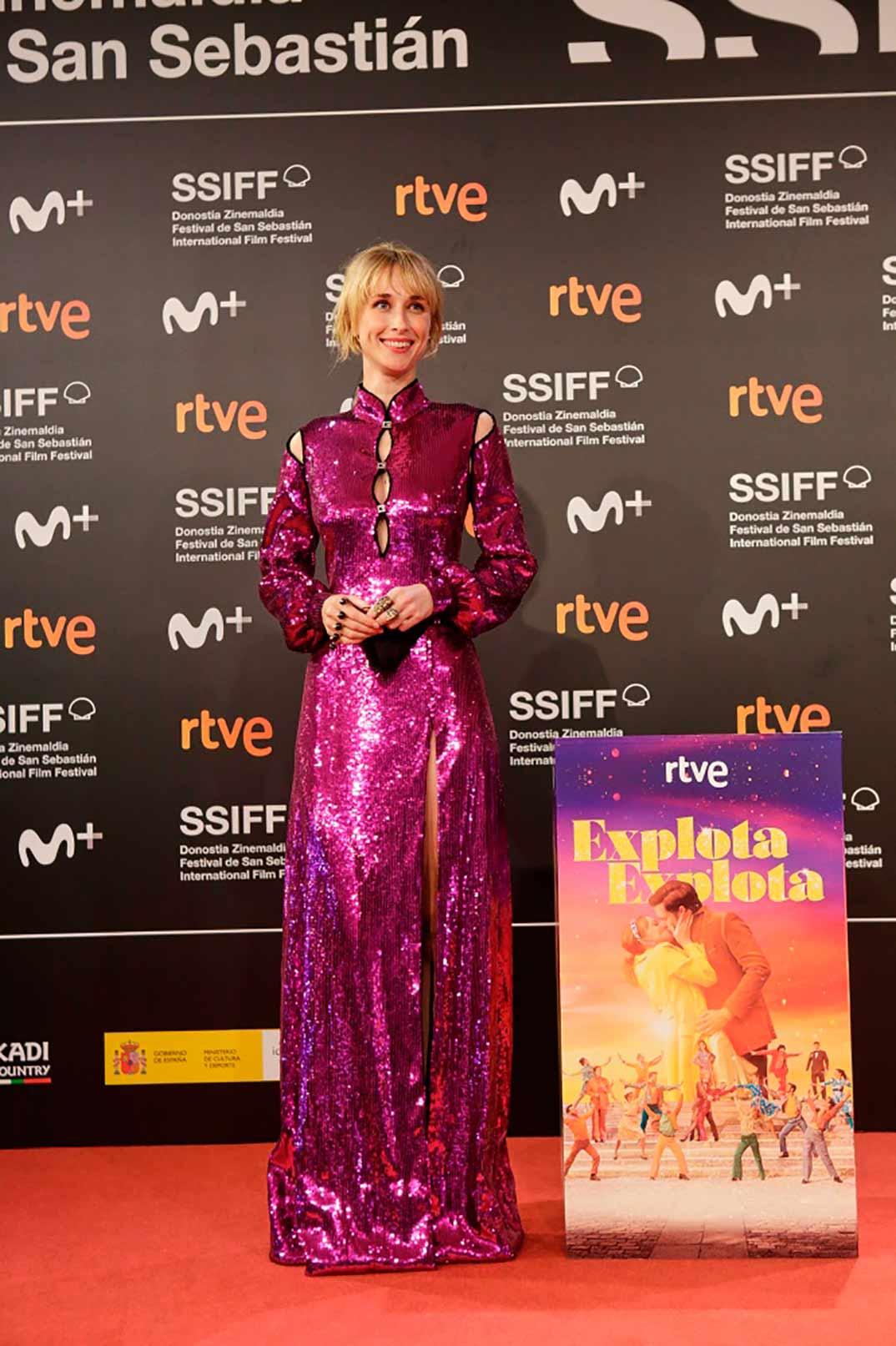 Ingrid García-Jonsson - Explota explota © Festival de Cine de San Sebastián