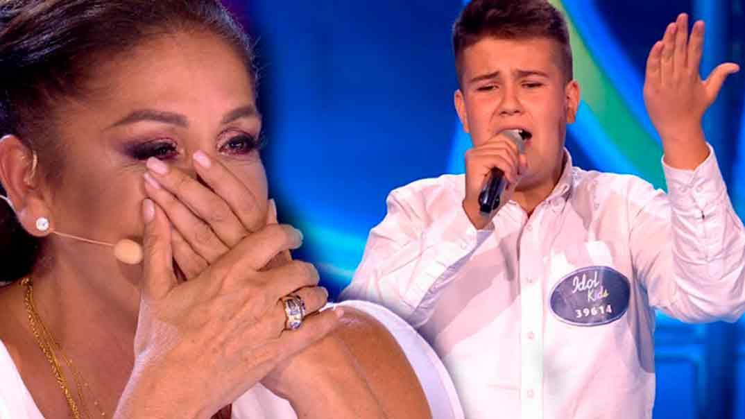 Isabel Pantoja -Idol Kids © Telecinco