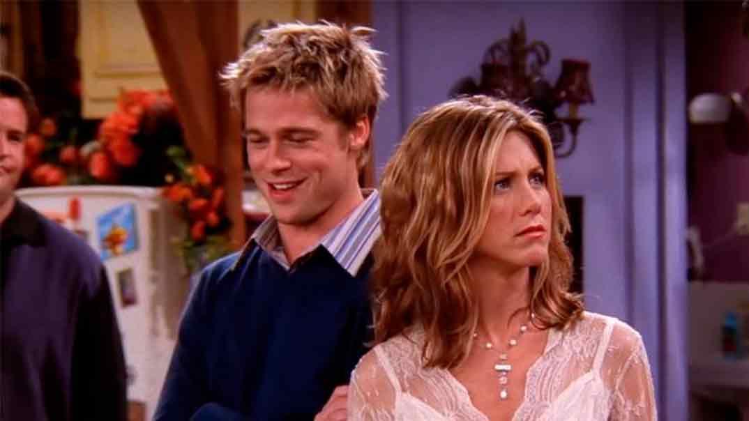 Jennifer Aniston y Brad Pitt - Friends