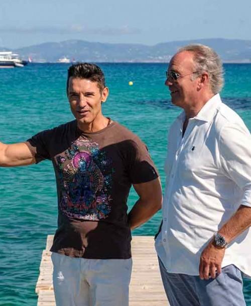 Bertín Osborne viaja a Formentera para entrevistar a Jesús Vázquez