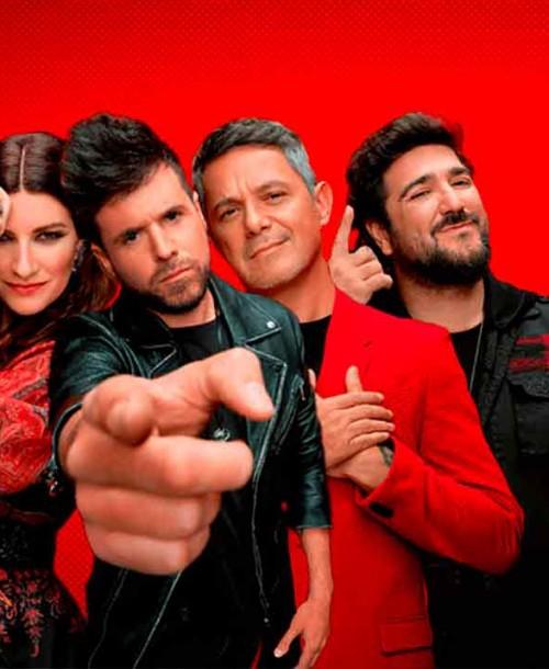 Vuelve 'La Voz' con Laura Pausini, Alejandro Sanz, Antonio Orozco y Pablo López