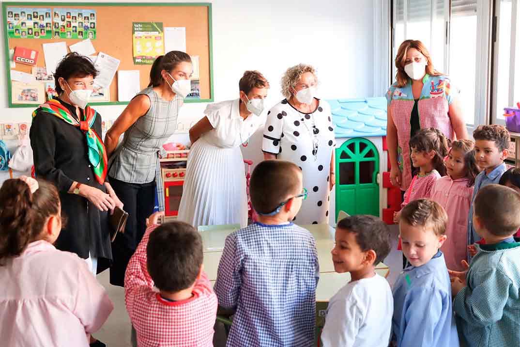 Reina Letizia - Inauguración curso escolar 2020/21 - Navarra © Casa S.M. El Rey