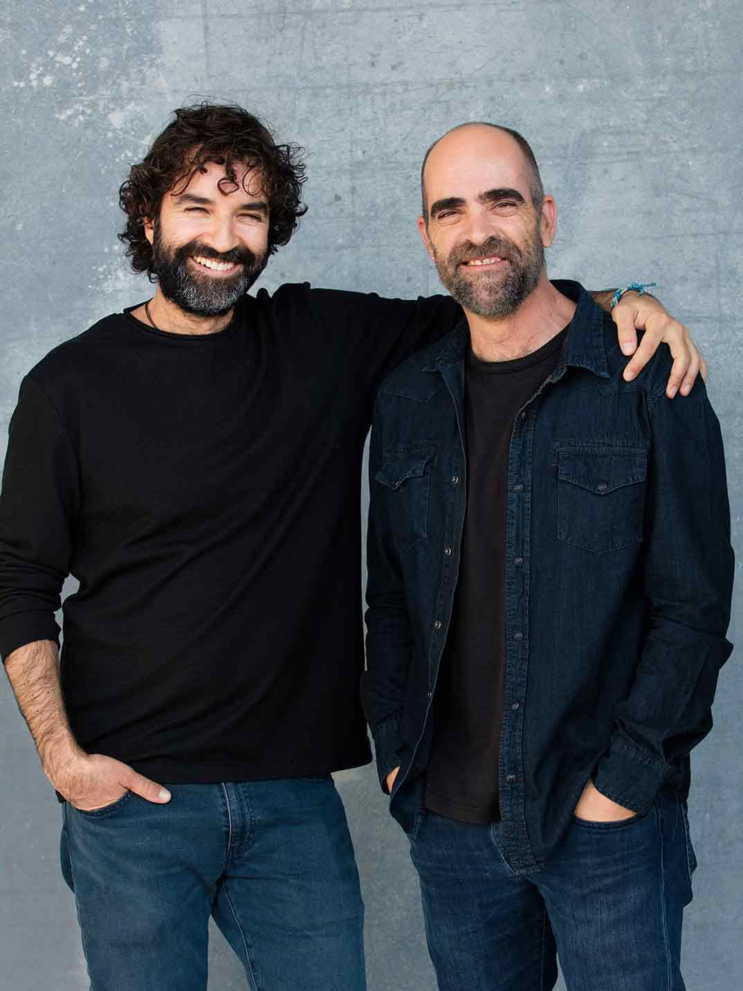 Mateo Gil y Luis Tosar - Los favoritos de Midas © Netflix