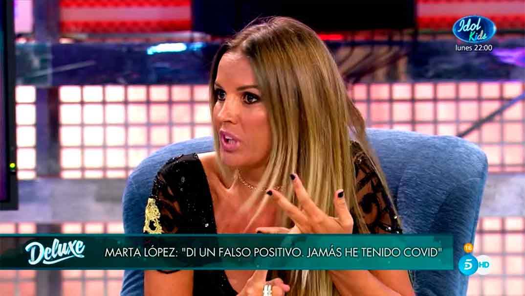 Marta López - Sábado Deluxe © Telecinco