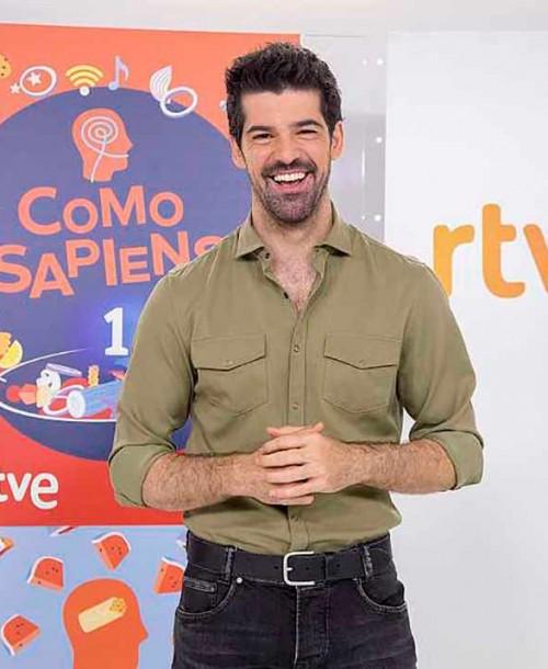 Miguel Ángel Muñoz estrena 'Como Sapiens', el nuevo magacín gastronómico de La 1