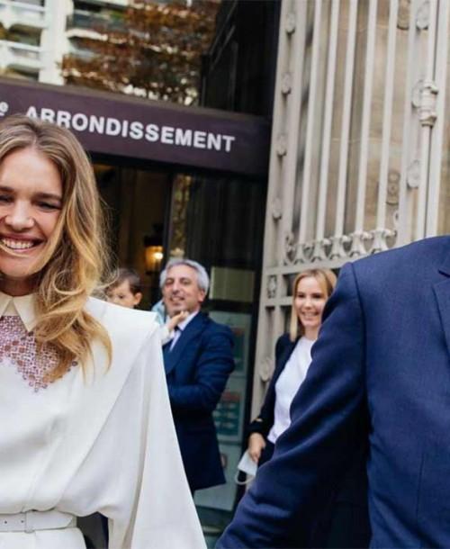 Natalia Vodianova y Antoine Arnault se dan el «sí, quiero»