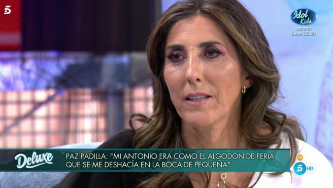 Paz Padilla - Sálvame Deluxe © Telecinco