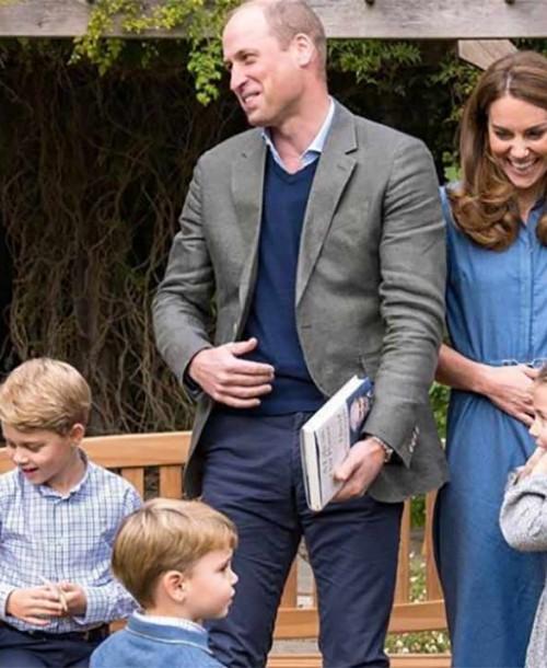 La emoción de los hijos de los duques de Cambrigde al conocer a su ídolo David Attenborough