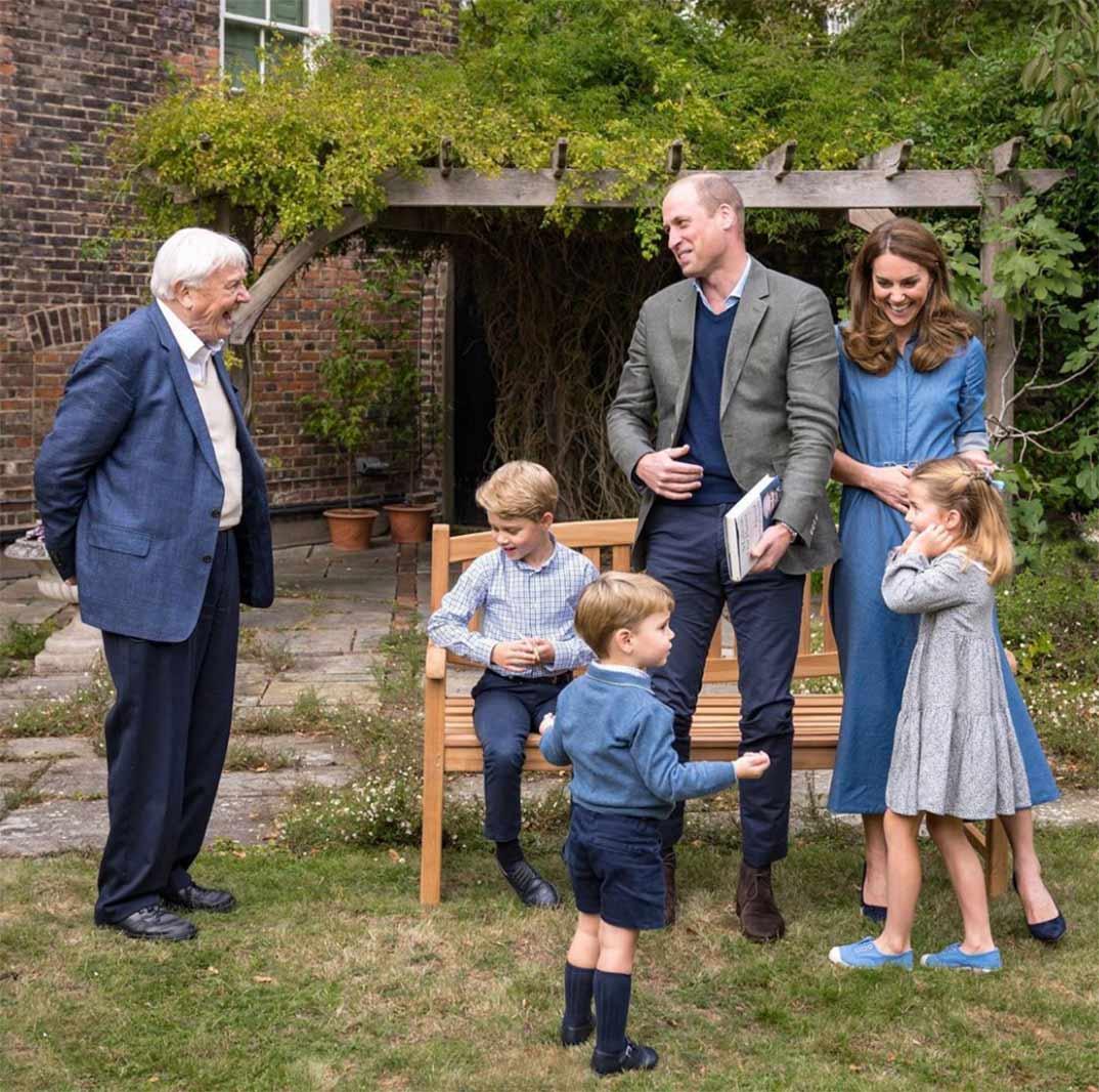 Duques de Cambridge con sus hijos © kesingtonroyal/Instagram