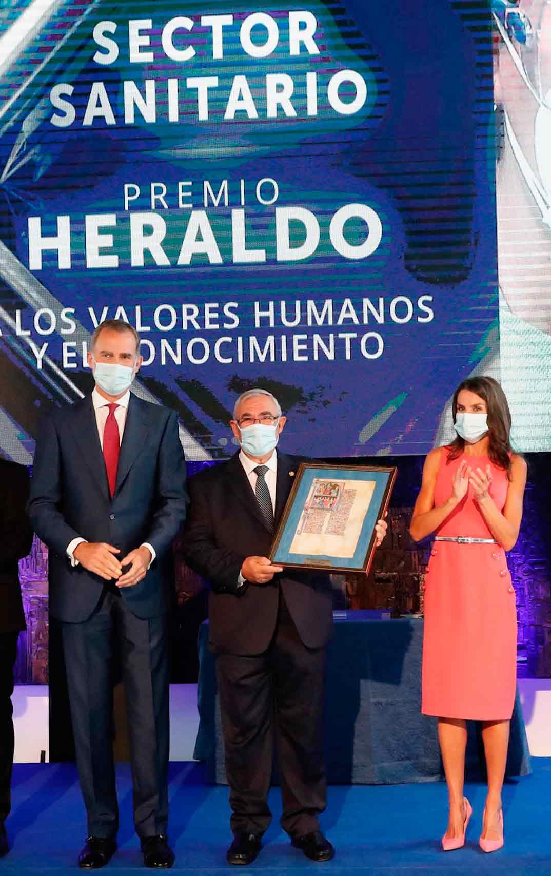 Reyes Felipe y Letizia - Premios Heraldo © Casa S.M. El Rey