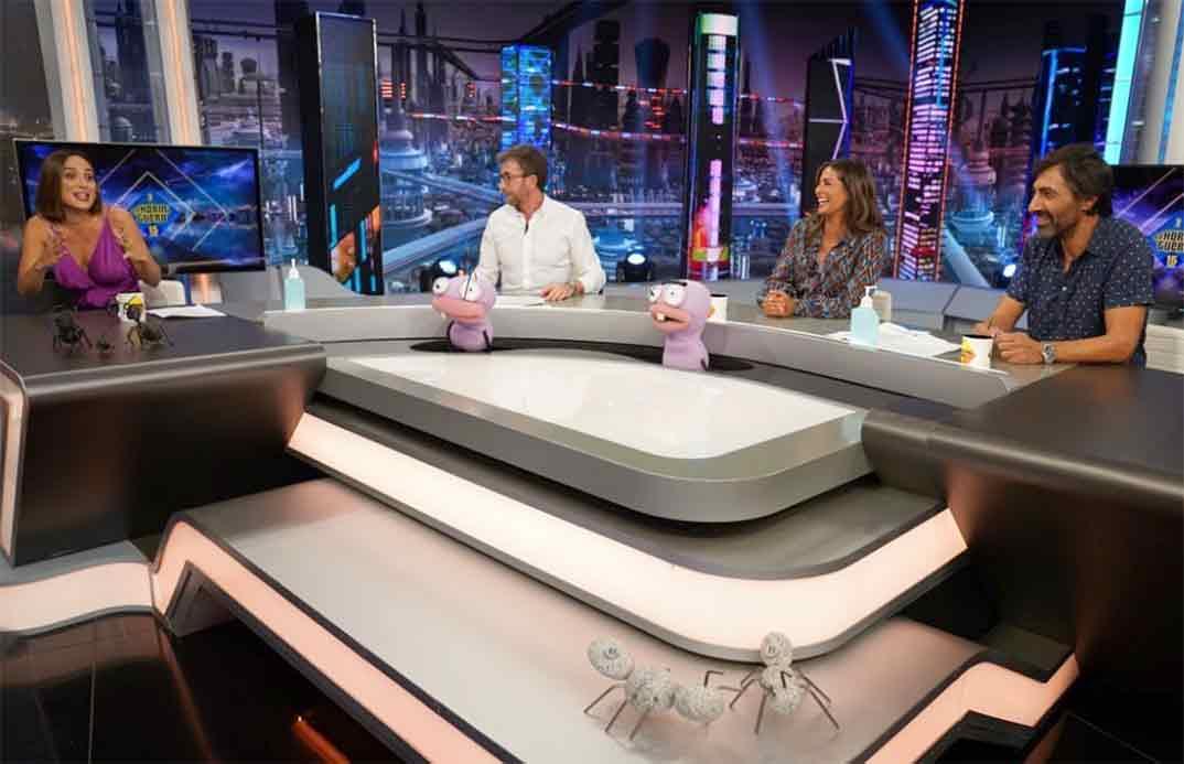 Tamara Falcó con Pablo Motos, Nuria Roca y Juan del Val - El Hormiguero © Atresmedia