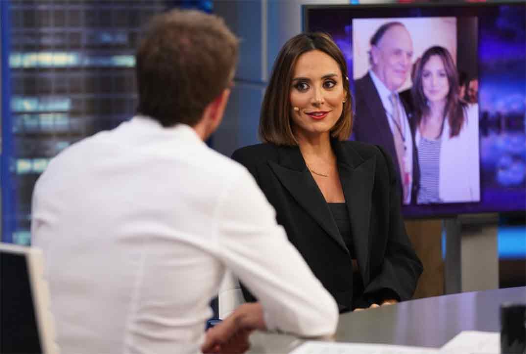 Tamara Falcó con Pablo Motos en El Hormiguero © Atresmedia