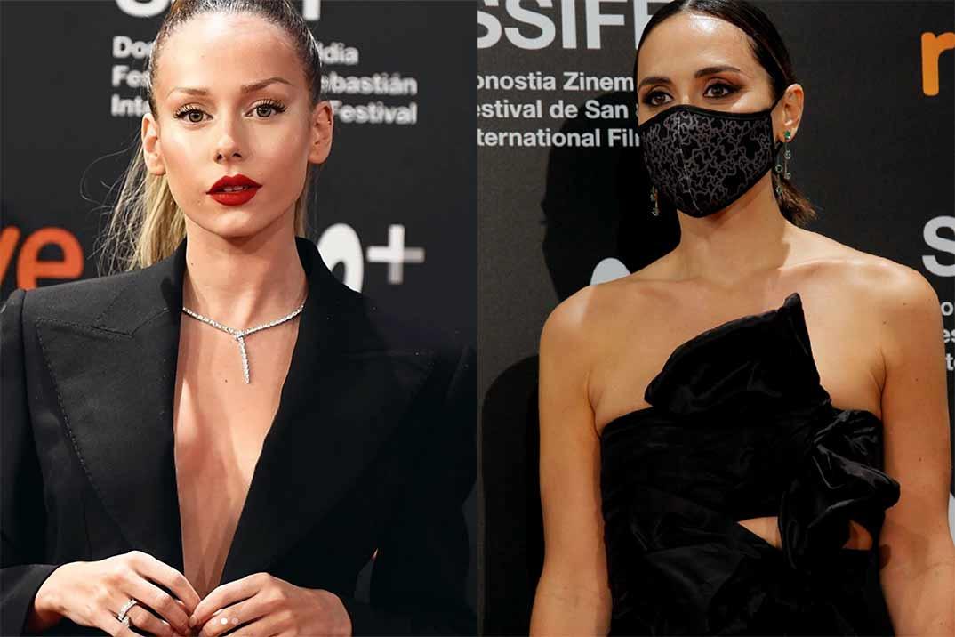Tamara Falcó y Ester Éxpósito, espectacular duelo de estilo en San Sebastián