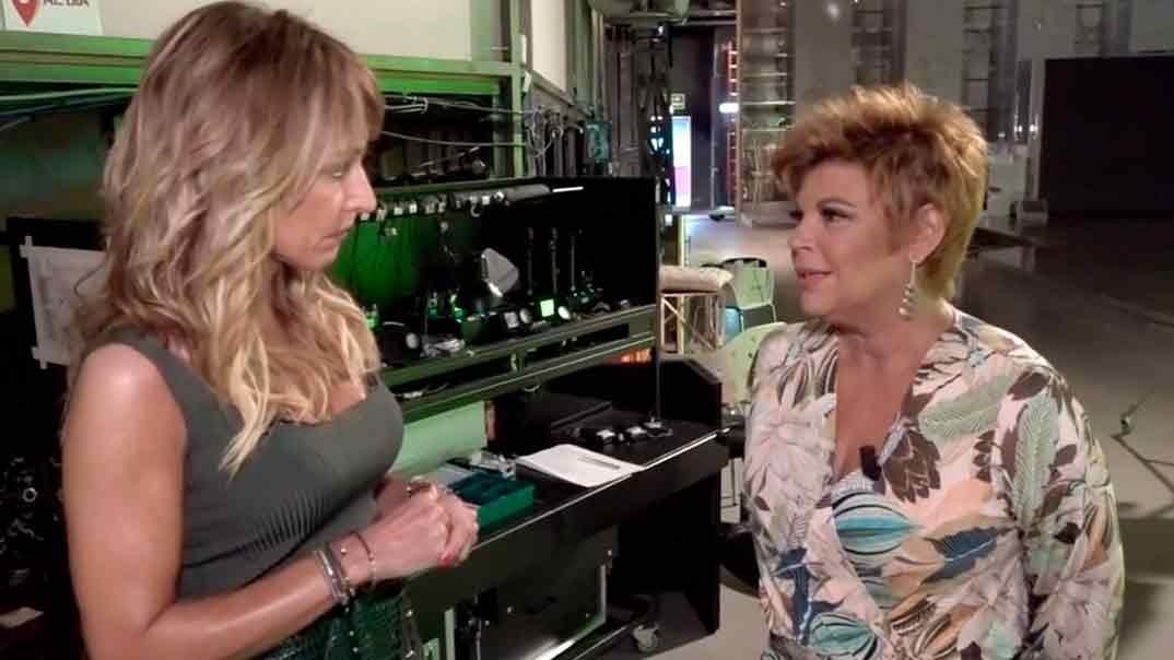 Terelu Campos y Emma García - Viva la vida © Telecinco