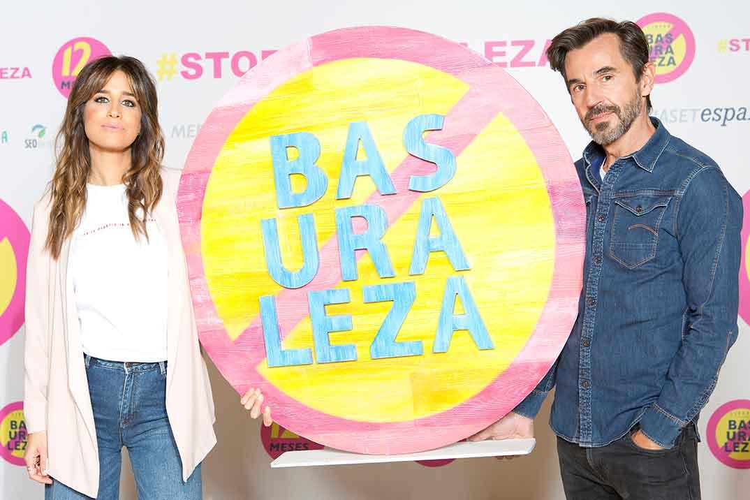 Isabel Jiménez y Santi Millán - Basuraleza © Mediaset