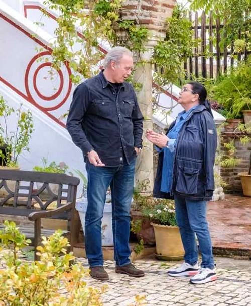 Bertín Osborne viaja a Cazalla de la Sierra para entrevistar a María del Monte