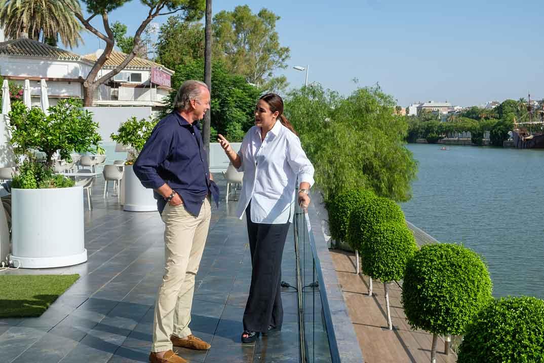 Vicky Martín Berrocal con Bertín Osborne - Mi casa es la tuya © Mediaset