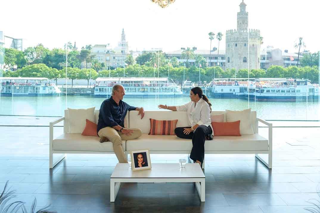 Vicky Martín Berrocal nueva invitada de Bertín Osborne en 'Mi casa es la tuya'