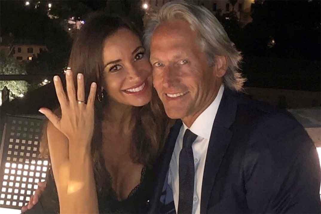 Cecilia Gómez anuncia su boda con Marco Vricella